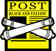 The Black And Yellow Post